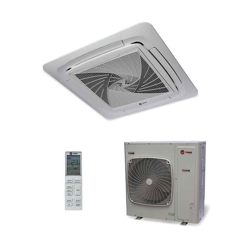 Ar Condicionado Split Cassete Inverter Trane 34000 Btus Quente/frio 220V Monofasico 4MXC6536G1000AA